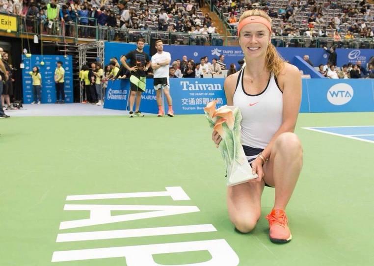 Элина Свитолина победила в турнире WTA International Taiwan Open в Тайване!