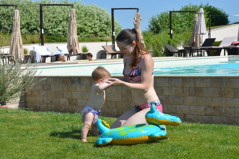 Супер-мама Аня спустя 7 месяцев и 7 килограммов
