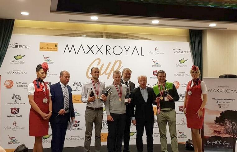 Победа Супериор на международном гольф-турнире в турецком Maxx Royal